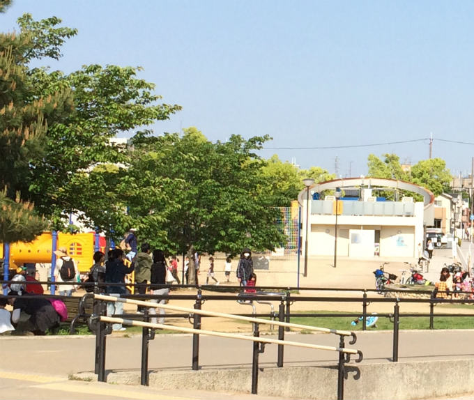 公園(狭山池)