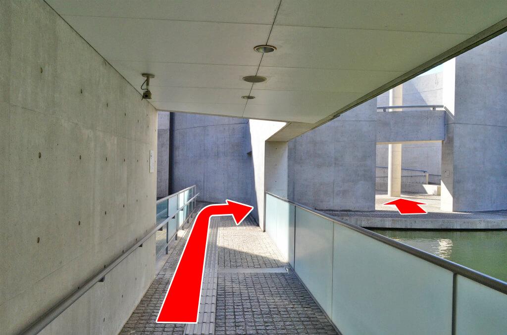大阪府立狭山池博物館への経路