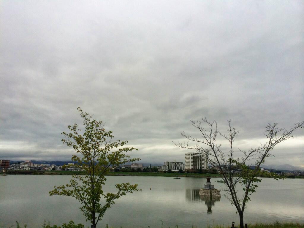 【台風16号】が過ぎ去った狭山池