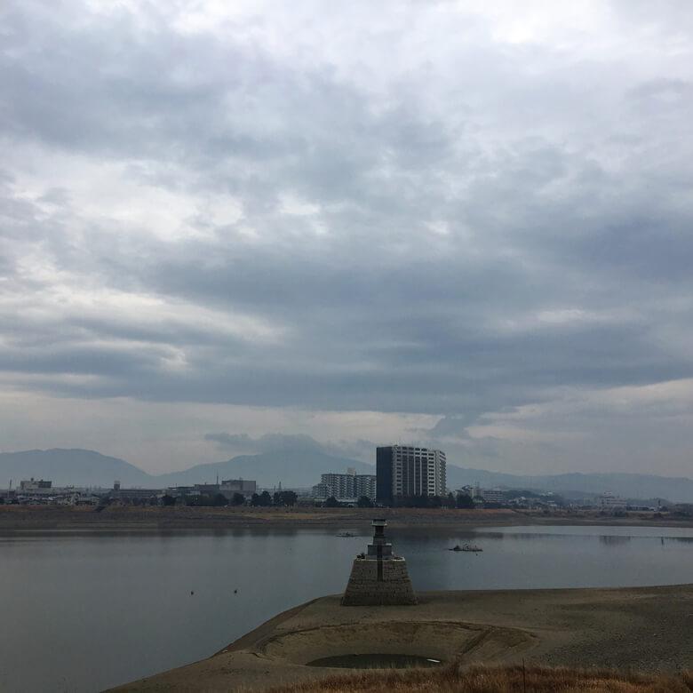 2017年2月17日(金曜日)の狭山池