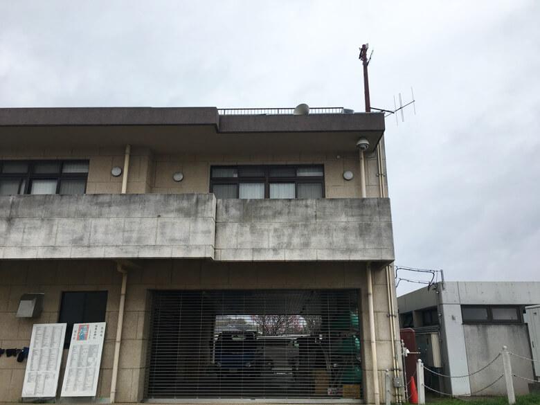 北堤駐車場の横の建物だポン☆ キラキラさやりんがいた場所だポーン(*^ω^*)