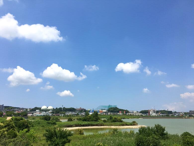 太陽ピカーン☆ 雲たち、楽しそうだポン☆