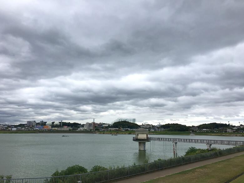 雲もくもく、風ビュービューだポン☆