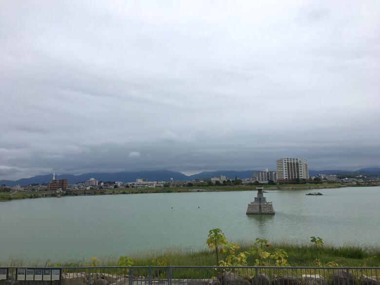 山のてっぺん 雲もくもく〜だポン☆