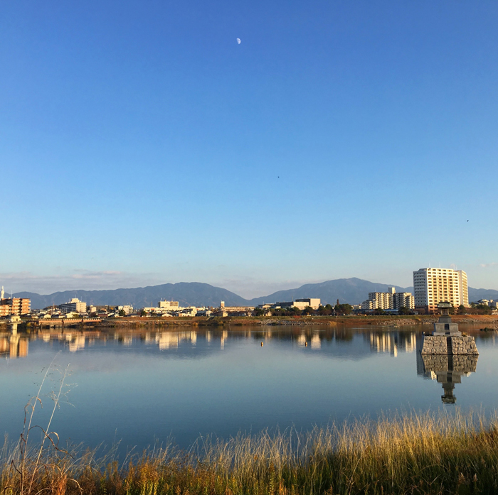 秋の狭山池