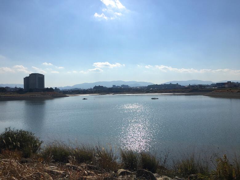 狭山池キラキラ☆だポン♪