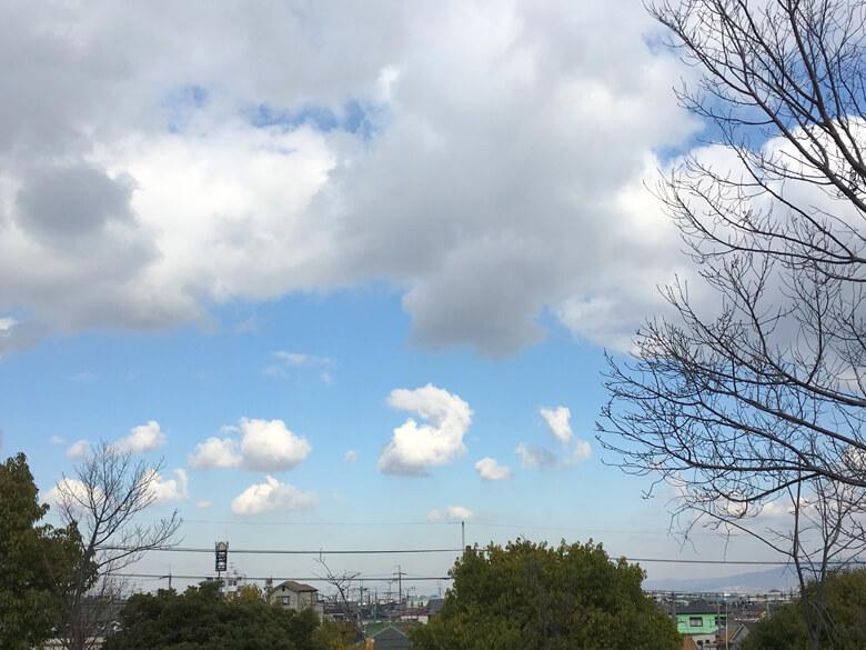 雲がクルン♪ おもしろい雲みっけだポーン☆