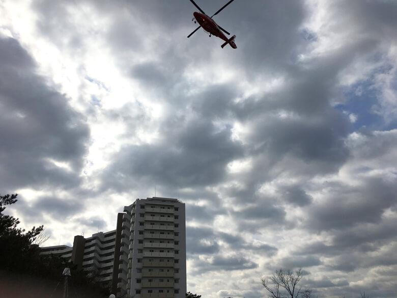 ヘリコプターもポン☆
