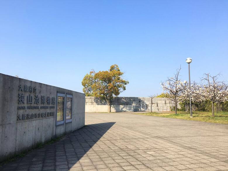 博物館のまわりに色んな桜、咲いてるポーン☆