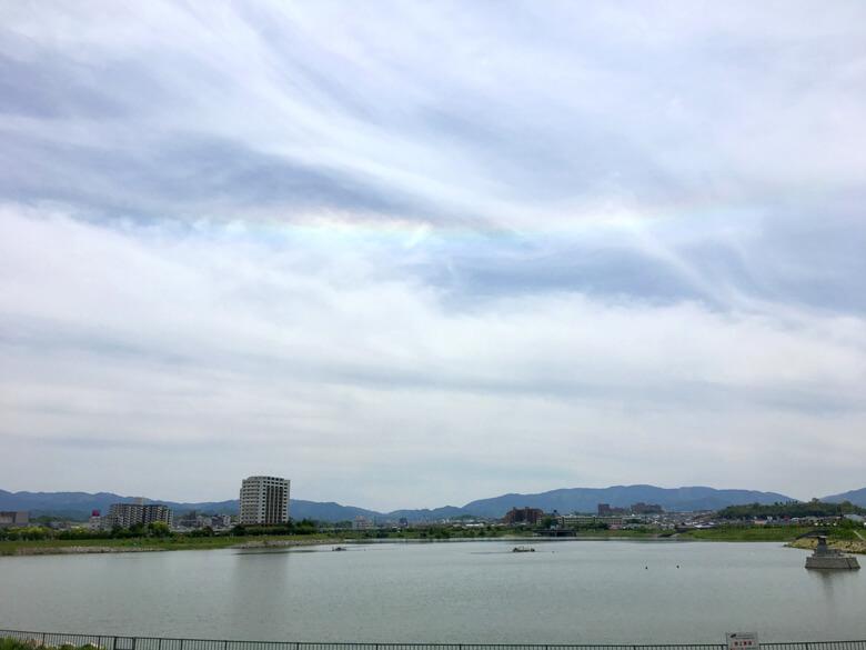 虹、見っけだポポーン☆