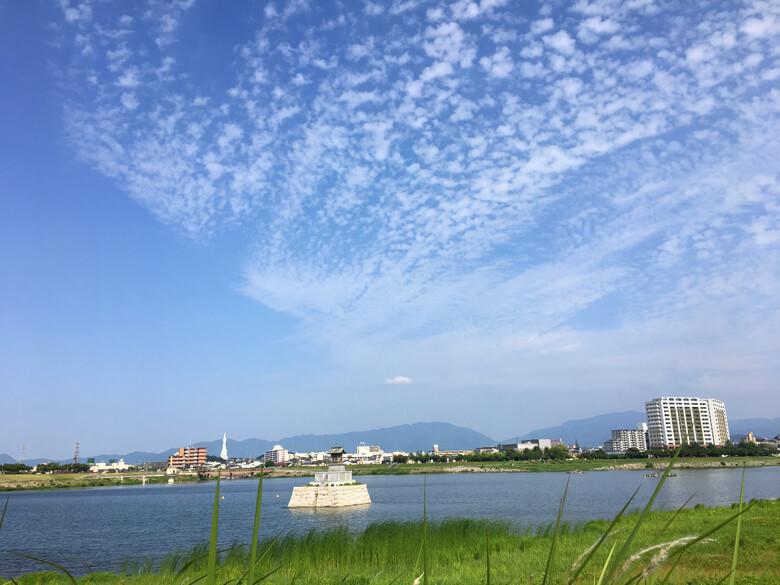 太陽ピカーン☆もこもこ雲だポン☆