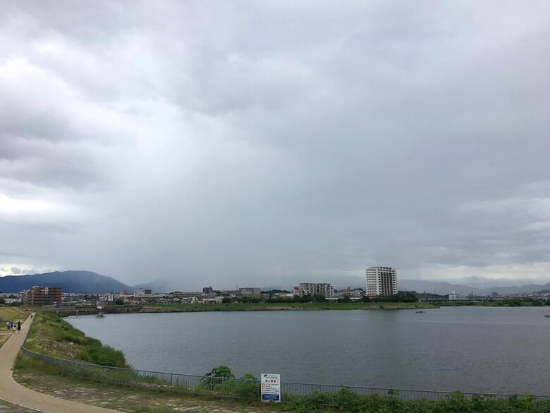 雨やんだポン☆金剛山みえないポーン☆