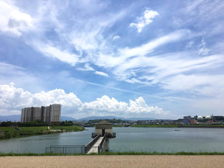 ふわふわ〜☆もこもこ雲だポーン♪(=^▽^)σ