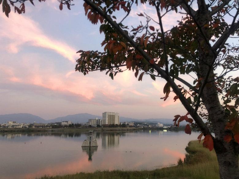 ピンクの雲キレイだポ~ン☆