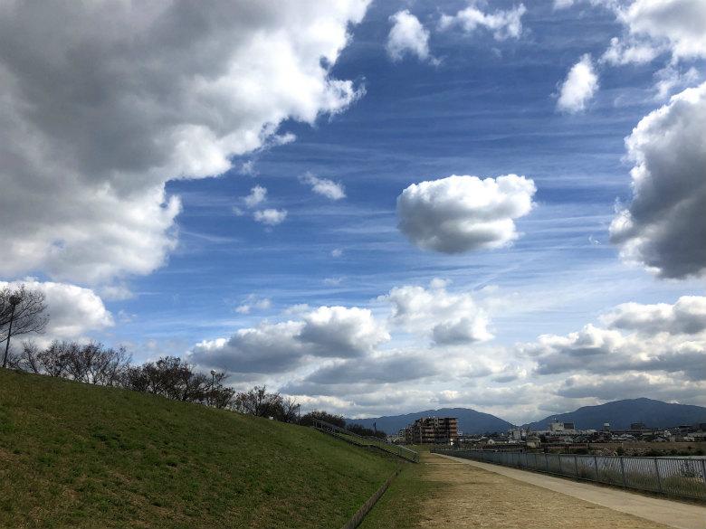 青い空☆もこもこ雲だポーン♪