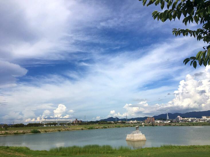 青い空☆雲もくもくいっぱいだポンよ〜♪