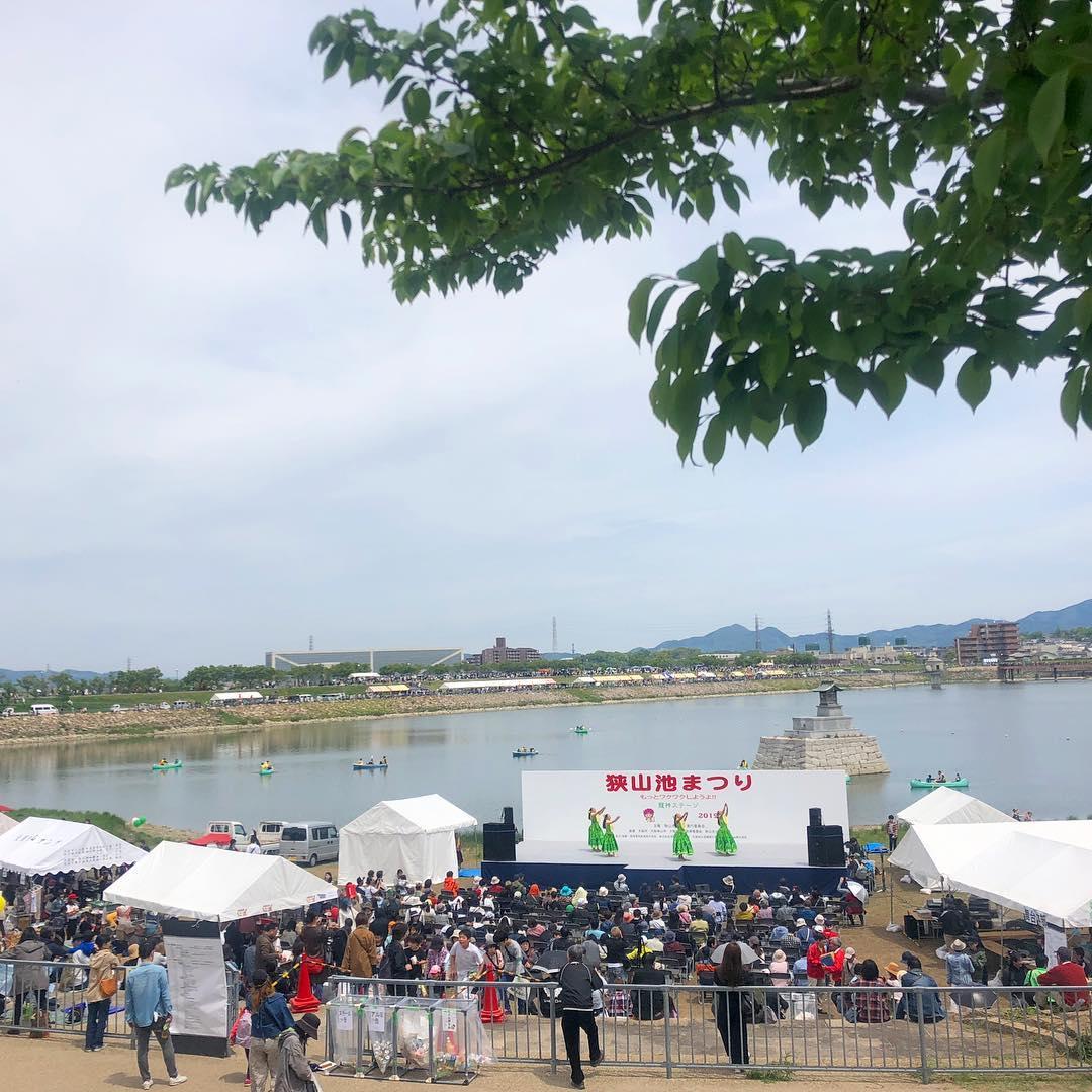 「狭山池祭り2019手漕ぎボート」の画像検索結果