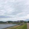 土曜日の狭山池「ムラサキツメクサの赤と白」見っけだポン